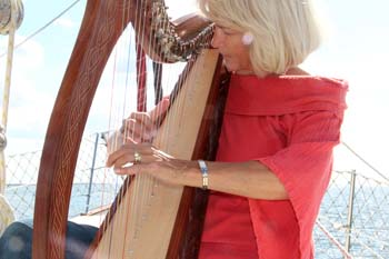Live Sea Shanties by Professional Harpist/First Mate Kathryn