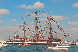 Jose Gaspar, flagship of the fleet.