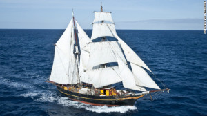 Cargo Sailing Ship